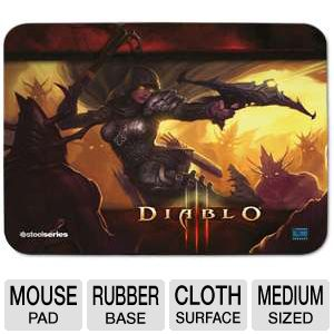 Steel Series QcK Diablo III Demon Hunter Mouse Pad