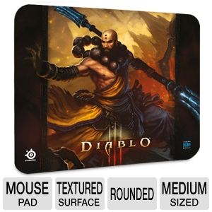 Steel Series QcK Diablo III Monk Mouse Pad