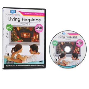 Screen Dreams SDFIRE2 Living Fireplace DVD