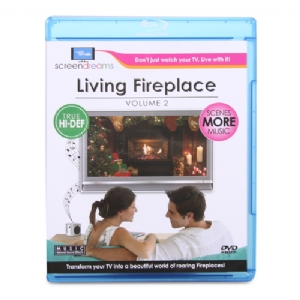 Screen Dreams SDFPBR1 Living Fire Place Blu-Ray
