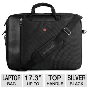"SWISS GEAR 17.3"" Laptop Sleeve with Handle"