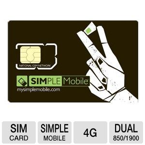 Simple Mobile SIM Card Starter Kit