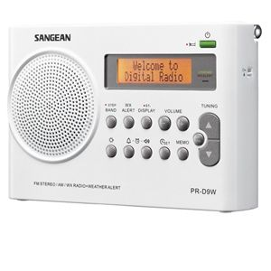 Sangean AM / FM / Weather Alert Radio