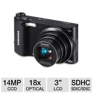 Samsung WB150F 14MP Digital Camera 