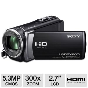 Sony HDR-CX200 Full HD Digital Camcorder REFURB