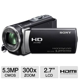 Sony HDRCX190/B Full HD Digital Camcorder REFURB