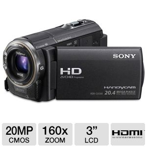 Sony HDR-CX580V Handycam HD Digital Camcorder