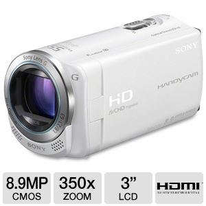 Sony HDR-CX260V/W Handycam HD Digital Camcorder