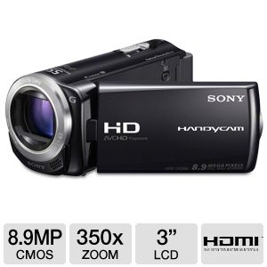 Sony HDR-CX260V/B Handycam HD Digital Camcorder 