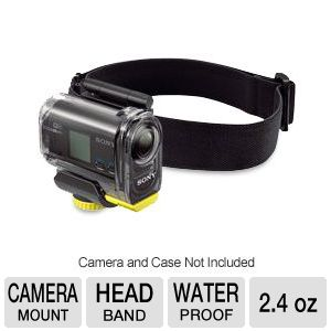 Sony Action Cam Waterproof Headband Mount