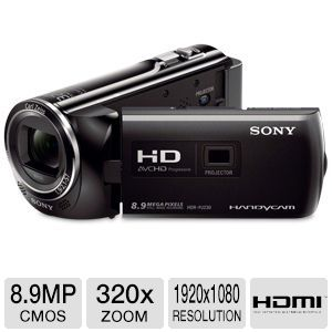 Sony Full HD Camcorder and Projector REFURB