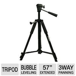 "Vivitar 57"" Photo/Video Tripod"