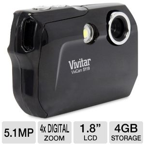Vivitar 5.1MP Digital Camera Kit