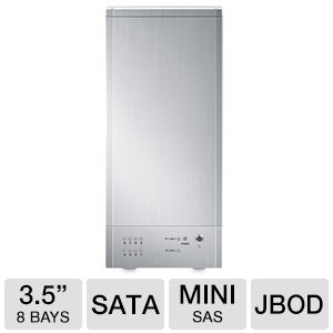 Sans Digital TowerRAID+ 8Bay HDD Enclosure Silver