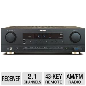 Sherwood RX-4503 Stereo Receiver with Virtual Surr