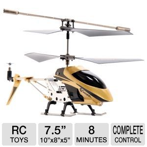 Swann Micro Lightning Black Gold Helicopter