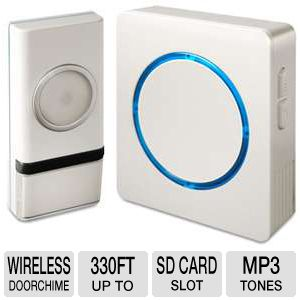 WIRELESS DOOR CHIME WITH BACKLIT DESIGN