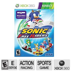 SEGA Sonic Free Riders for Xbox 360 Kinect