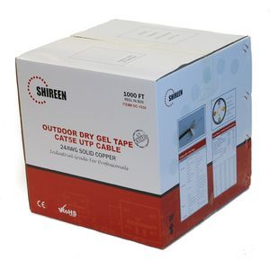 Shireen's Outdoor Cat5e UTP with Dry Gel-Tape-1000