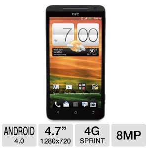 Sprint HTC EVO 4G LTE Cell Phone