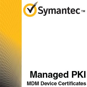 Symantec Managed PKI MDM Device Certificates - 213