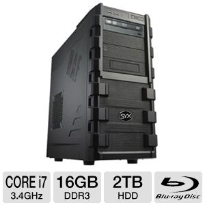 SYX SG-130 Gaming PC - INTEL CORE i7, DUAL  REFURB