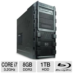 SYX Venture Intel X79 SG-205 Gaming PC