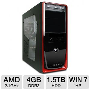 SYX Ascent SG-175 AMD A6 3500 Entry Gaming PC