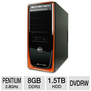 SYX Ascent SG-450 Entry Gaming PC 