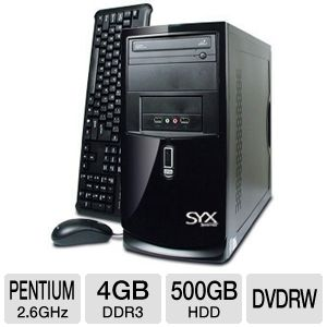 SYX H61 No O/S Desktop PC