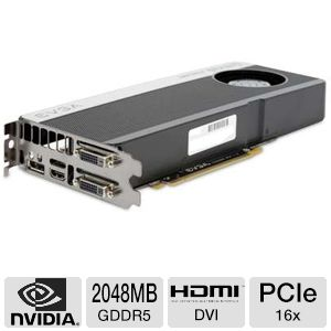 EVGA GeForce GTX 670 2GB GDDR5 Video Card (OEM)