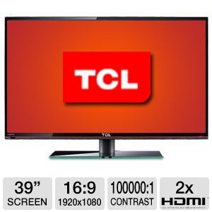 TCL 39&quot; Class 1080p 60Hz LED HDTV