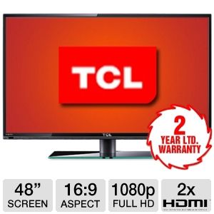 TCL LE48FHDF3300 48-inch 1080p 240Hz LED HDTV $399.99 AR