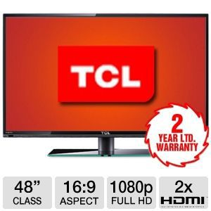 "TCL LE48FHDF3300 48"" 1080p 240Hz LED HDTV"