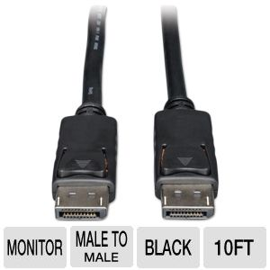 Tripp-Lite 10ft DisplayPort Monitor Cable