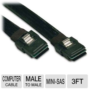 Tripp-Lite 3ft Internal mini-SAS to mini-SAS Cable