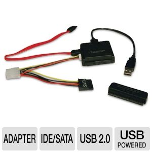 Tripp-Lite USB 2.0 to SATA / IDE Combo Adapter