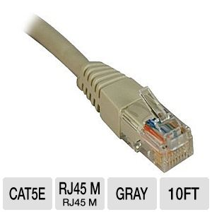 Tripp Lite N002-010-GY Molded Cable