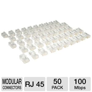 Tripp Lite Cat5e RJ45 Modular Connectors