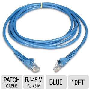 Tripp Lite Cat6 Snagless Molded Patch Cable