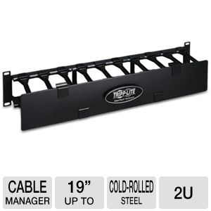 TrippLite High Capacity Horizontal Cable Manager