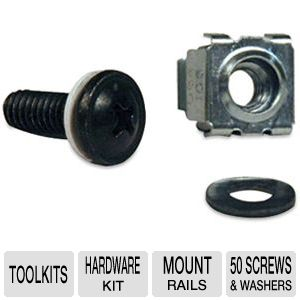 TrippLite SMARTRACK Square Hole Hardware Kit