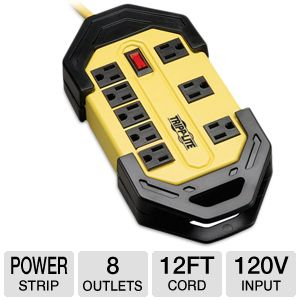 Tripplite TLM812GF Safety Power Strip