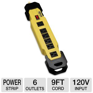 Tripplite TLM609GF Safety Power Strip