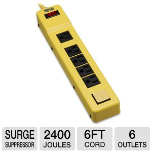 Tripplite TLM626NS Safety Power Strip