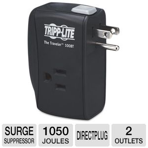 Tripp Lite Protect It!� Two-Outlet Porta