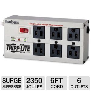 TrippLite ISOBAR6ULTRA Ultra Premium Surge Suppres