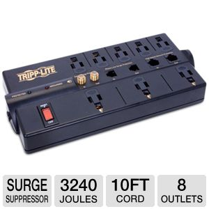 Tripp Lite Protect It! 8 outlet Surge Suppressor