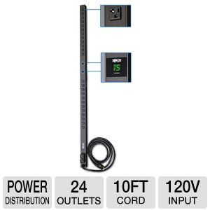 TrippLite 120V Metered 0U Vertical Rack PDU