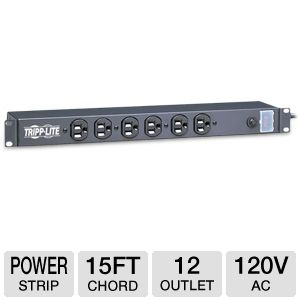 Tripplite Power Strip 120V AC